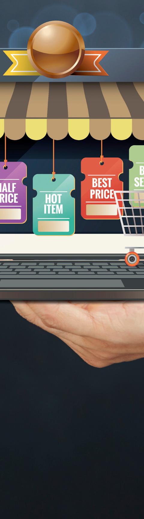online shopping mortar bricks